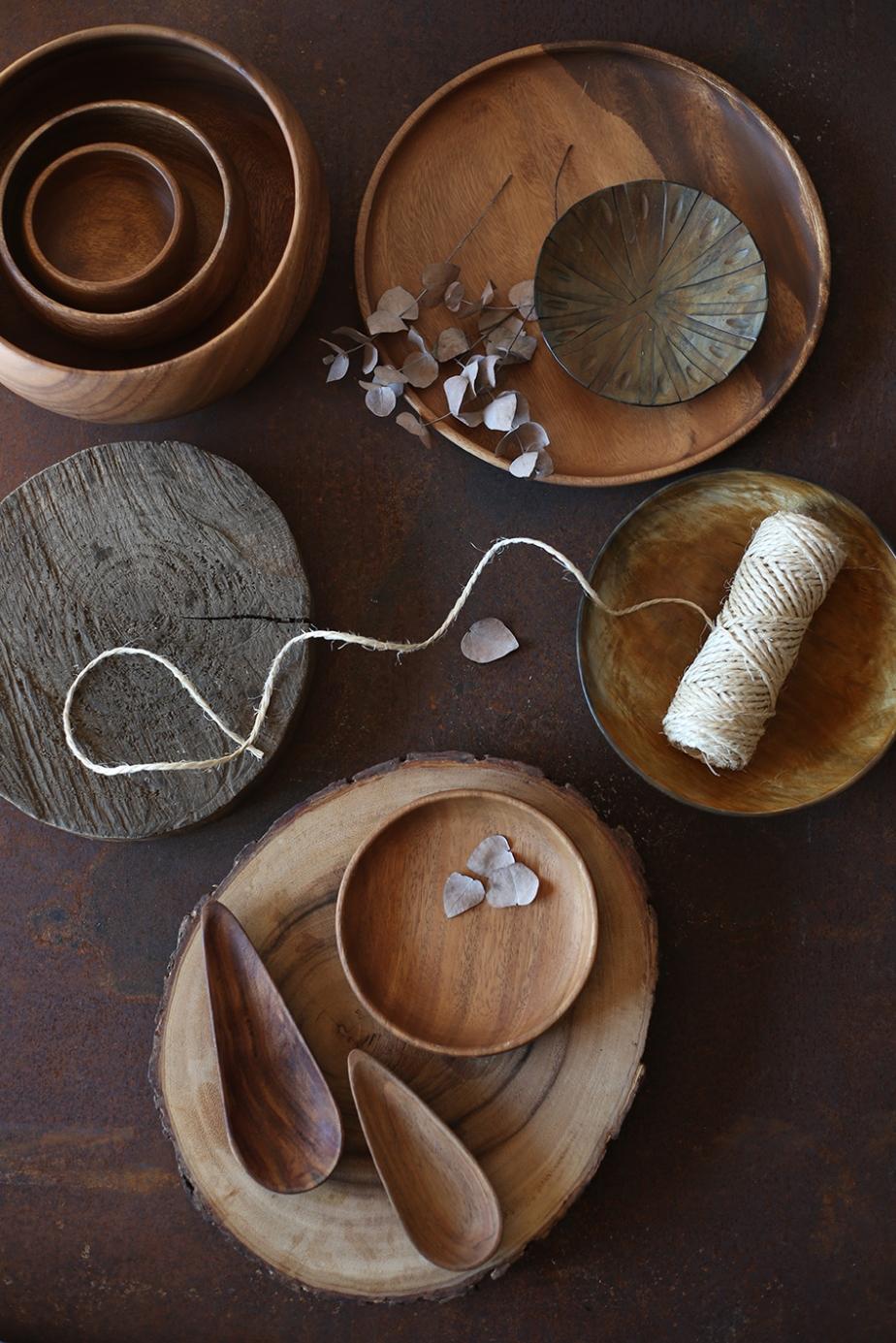 producao de objetos madeira
